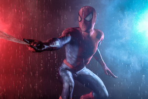 Spiderman Cosplay Wallpaper