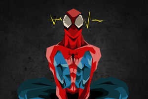 Spiderman Digital Art HD Wallpaper