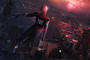 Spiderman Far Away 4k Wallpaper