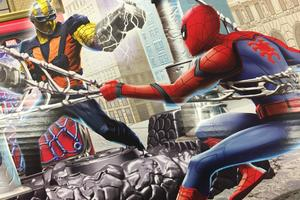 Spiderman Homecoming Promo Art Wallpaper