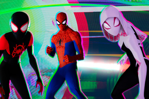 SpiderMan Into The Spider Verse 2018 HD Wallpaper