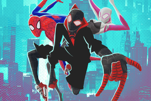 SpiderMan Into The Spider Verse 4k New Artwork Wallpaper