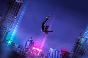 SpiderMan Into The Spider Verse Art