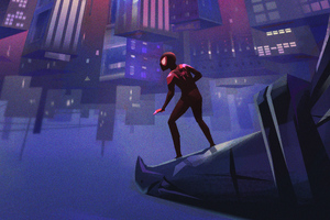 SpiderMan Into The Spider Verse Artworks Wallpaper