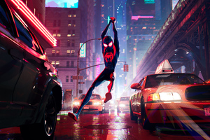 SpiderMan Into The Spider Verse New 2018