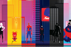 SpiderMan Into The Spider Verse New Poster 2019 Wallpaper