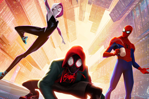 SpiderMan Into The Spider Verse New Poster Wallpaper
