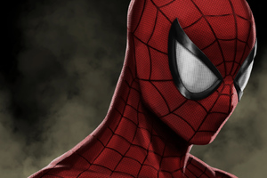 Spiderman Mask Artwork