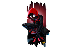 Spiderman Miles Morales Art 4k