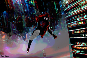 Spiderman Miles Morales Arts 4k