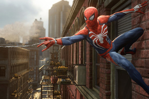 Spiderman PS4 2016 Game
