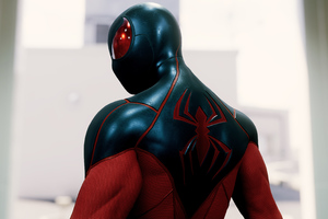 Spiderman Ps4 4k New Suit