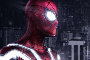 Spiderman PS4 Artwork