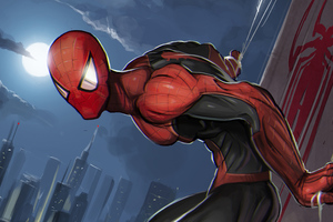 Spiderman Superhero Art Wallpaper