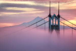 St Johns Bridge Of Portland Wallpaper