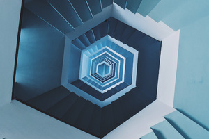 Staircase Minimal Wallpaper