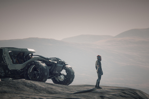 Star Citizen On Daymar 4k