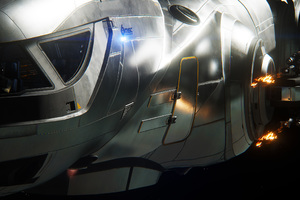 Star Citizen Space Ship HD