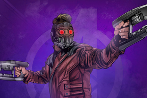 Star Lord 4k Artworks Wallpaper
