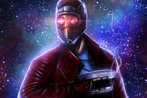 Star Lord 5k Art Wallpaper