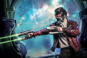 Star Lord Cosplay Wallpaper