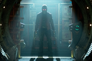Star Lord Guardians Of The Galaxy Movie Wallpaper