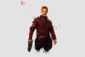 Star Lord In Avengers Infinity War 4k Artwork Wallpaper