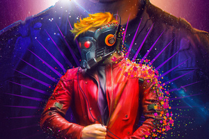 Star Lord New Artwork Wallpaper