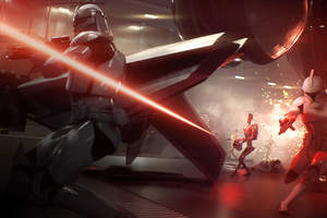 Star Wars Battlefront 2 Gameplay Wallpaper