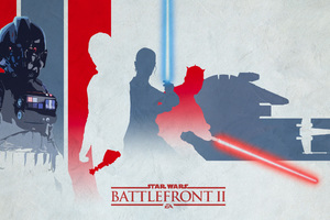 Star Wars Battlefront 2 Light Artwork Wallpaper