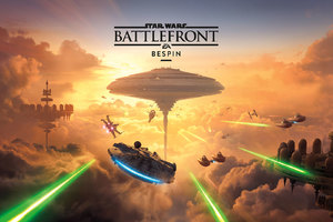Star Wars Battlefront Bespin Key Art Wallpaper