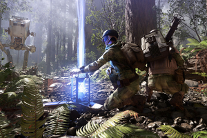 Star Wars Battlefront Video Game Wallpaper