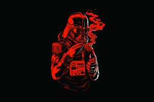 Star Wars Dark Red 8k Wallpaper