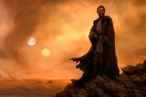 Star Wars Obi Wan Artwork Wallpaper