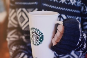 Starbucks Glass Wallpaper