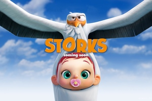 Storks Movie 2016 Wallpaper