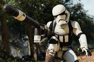 Stormtrooper Star Wars Battlefront 2 4k Wallpaper