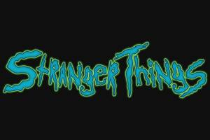 Stranger Things Creative Logo 4k