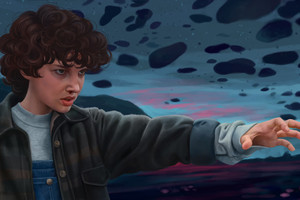 Stranger Things Eleven Artwork