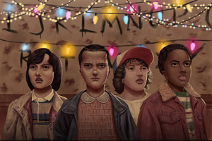Stranger Things Season 2 FanArt Wallpaper