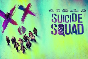Suicide Squad Movie Original Poster