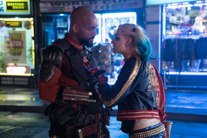 Suicide Squad Will Smith Margot robbie Wallpaper