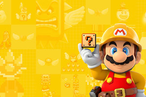 Super Mario Maker Wallpaper