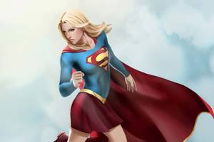 Supergirl Artwork 4k Wallpaper