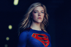 Supergirl Cosplay 5k Wallpaper