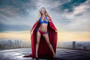Supergirl Cosplay