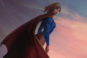 Supergirl Infinite Crisis Wallpaper