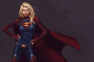 Supergirl New Arts Wallpaper