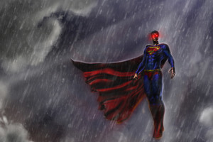 Superman Justice League Artwork 8k Wallpaper