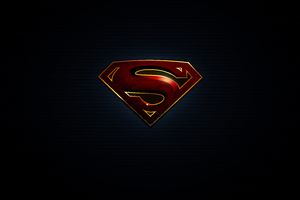 Superman Logo 10k Wallpaper
